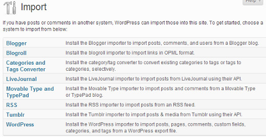 wordpress-importer-tools