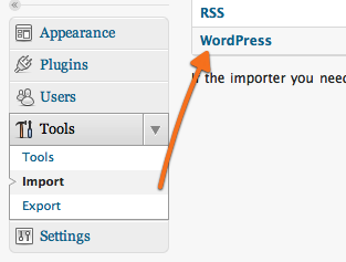 Import wordpress ke self hosting